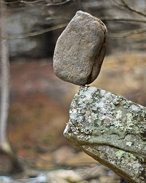 Rock balance by James Jordan