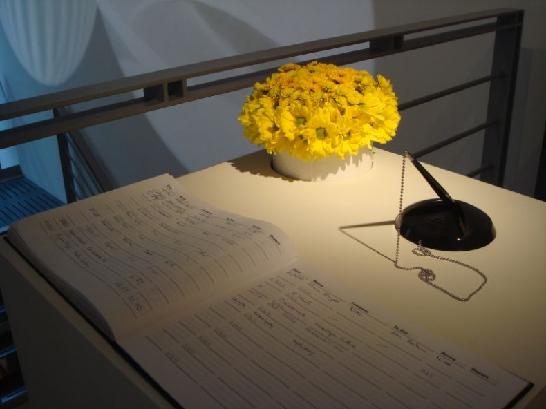 Guest Book by Monica Arellano Ongpin