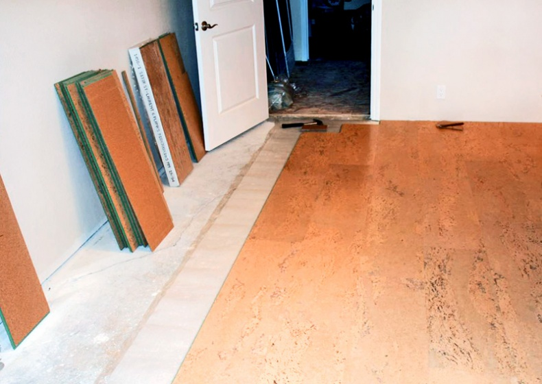 Cork Flooring by Steve Ryan