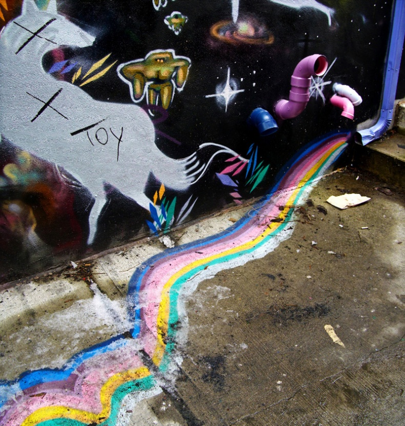 Graffiti Magic Rainbow