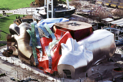 EMP Museum by Wikimedia Commons