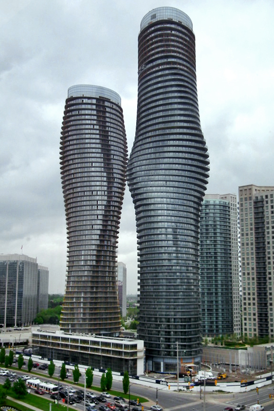 The Marilyn Monroe Towers by Wikimedia Commons