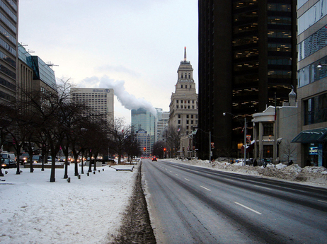 Toronto in Winter by IKs World Trip
