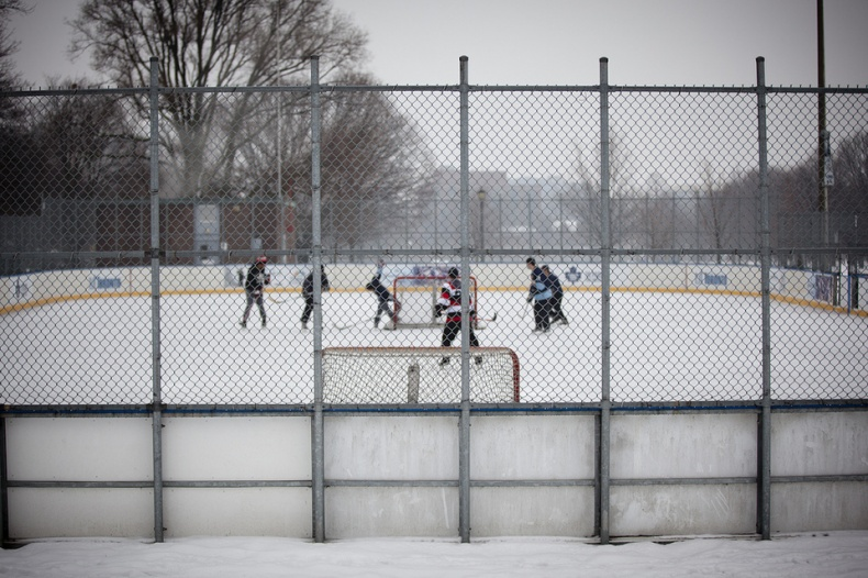 Trinity Bellwoods Ice Hockey Rink