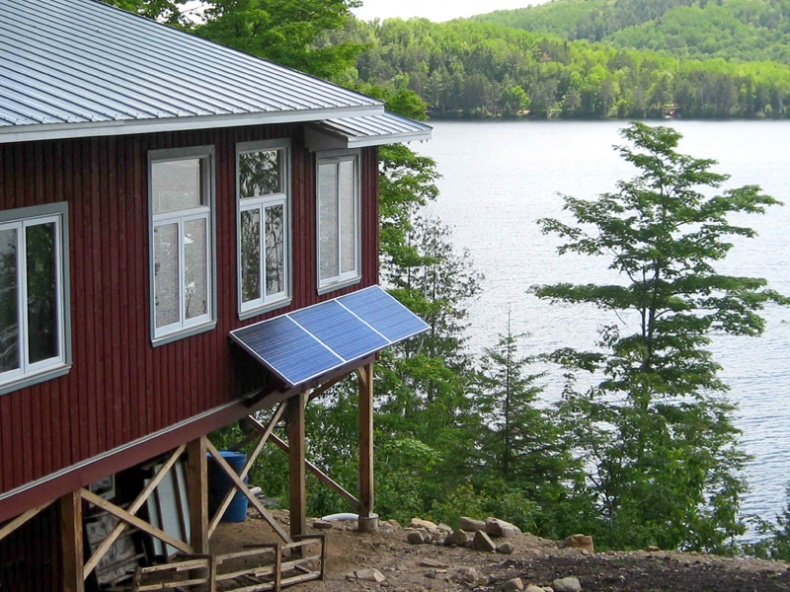 Trout Lake Passive Solar Home