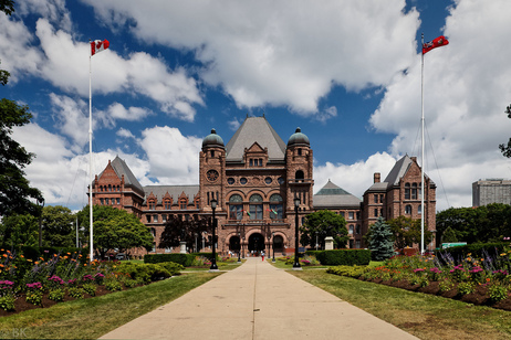 Ontario Legislative Building by Benson Kua