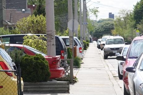 Front Yard Parking By Danielle Scott
