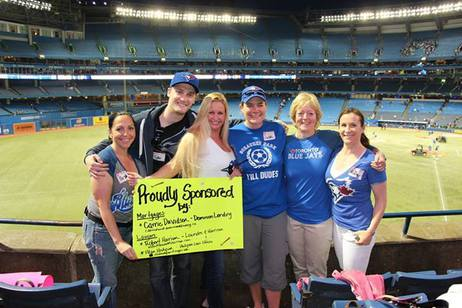 JKT at the Blue Jays game