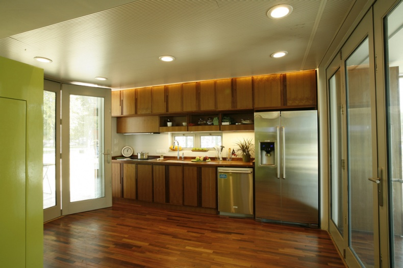 Inside the Solar House by Dept of Energy Solar Decathlon