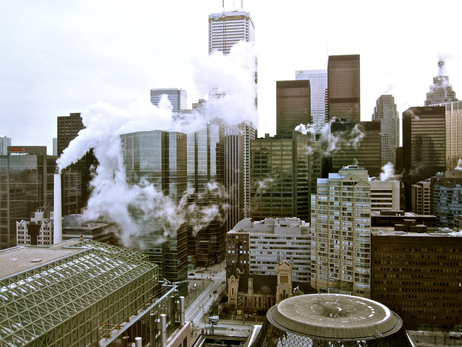Steamy Toronto by Hailey Torft