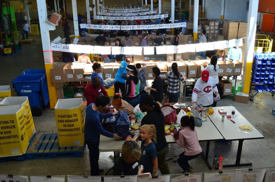 Food Bank Vaughan Volunteers
