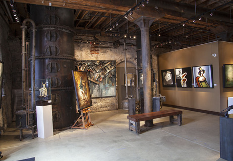 Gallery In Distillery District