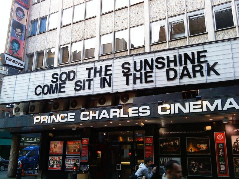 Cinema Advertising by James Nash