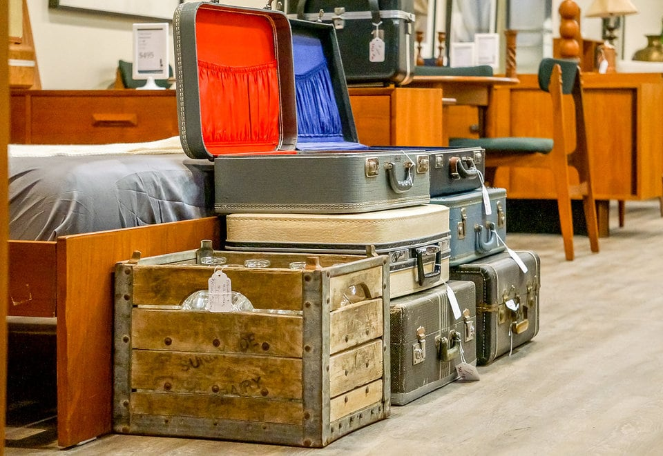 Suitcases and Chests