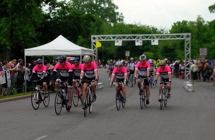 Ride finish line 2014