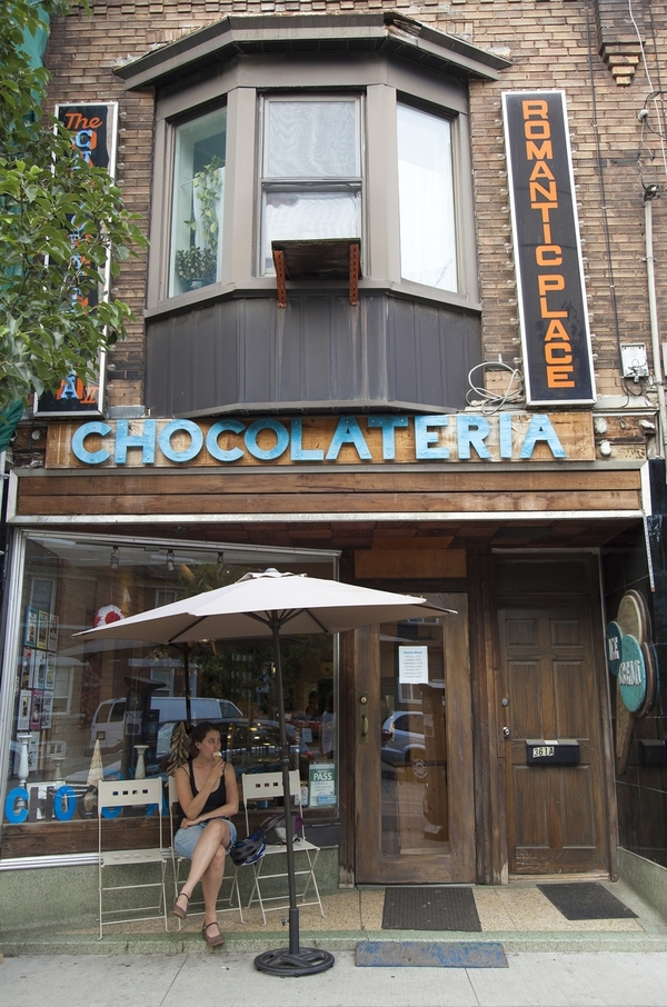 chocolateria entrance