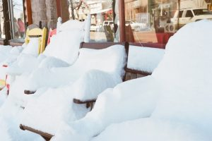 snow-winter-chairs-seats