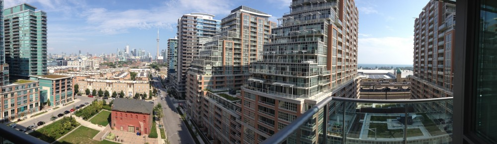 Liberty Village Panorama by  Carlos Pacheco