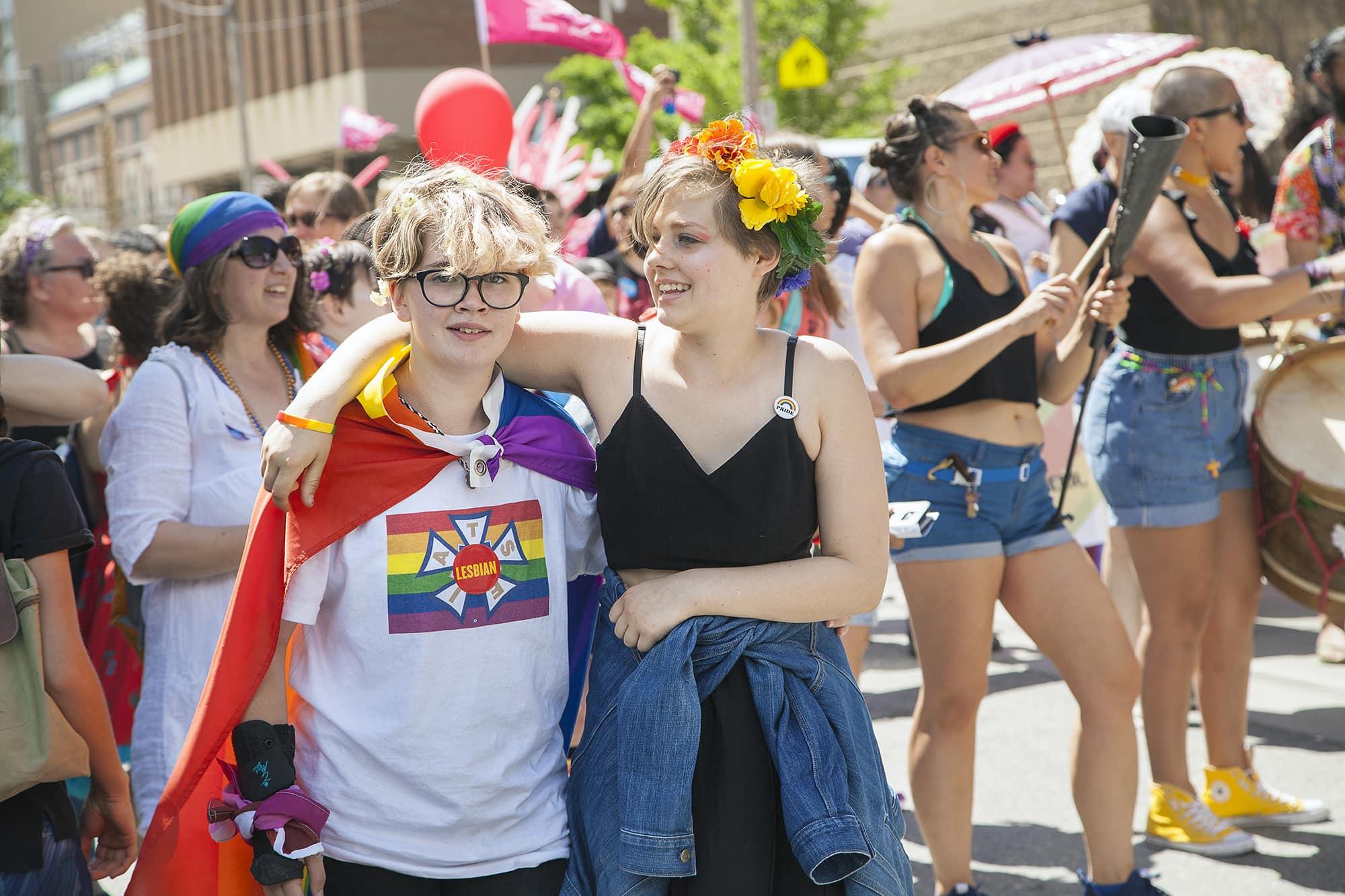 Canada Pride Month 2017 Celebrating Toronto Dyke March