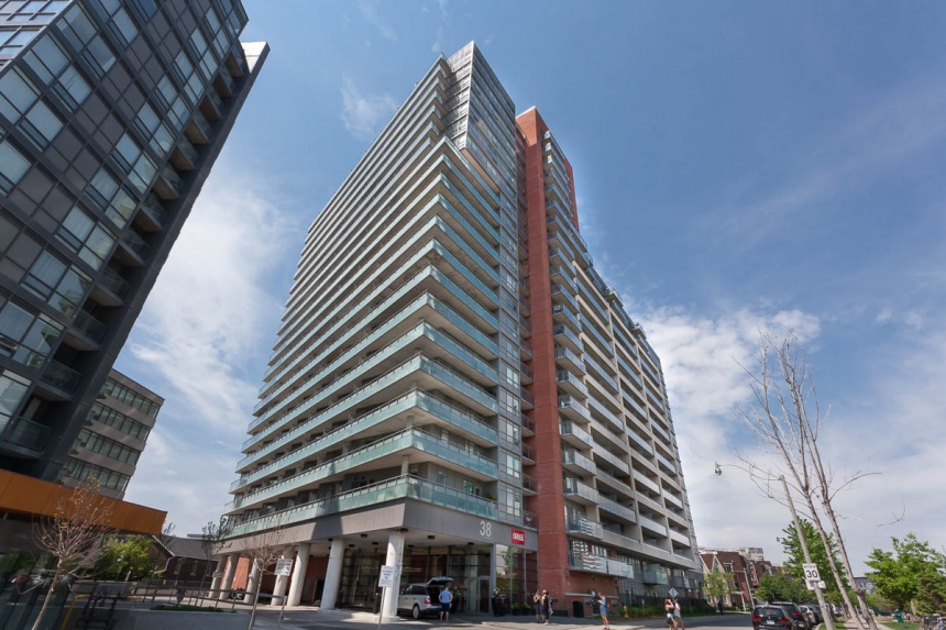 38 Joe Shuster Way #823 - Central Toronto - Downtown